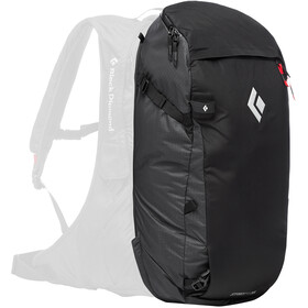 Black Diamond JetForce Pro Booster Selkäreppu 35l, black